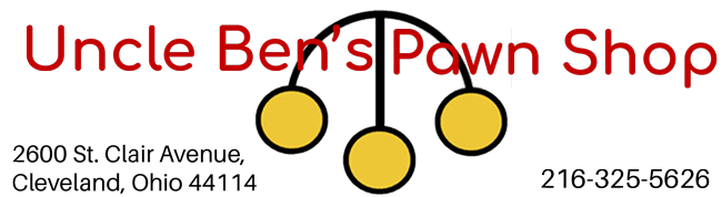 Uncle Ben's Pawn Shop Logo